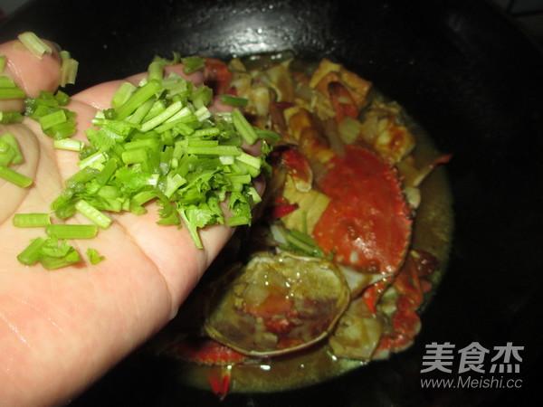 洋葱豆腐咖喱蟹怎样炖