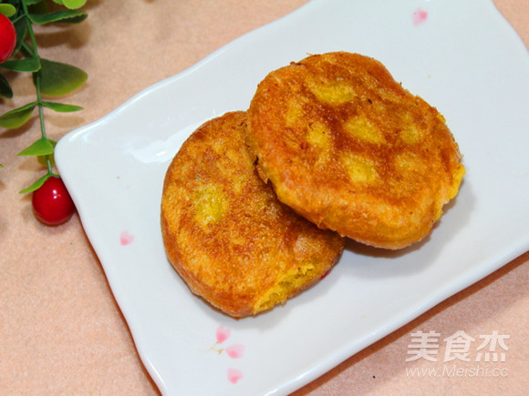 甜心南瓜饼怎样做