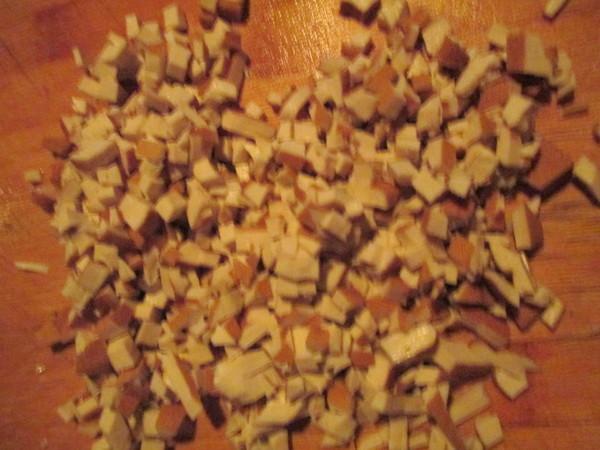 过年团子之咸菜冬笋耙耙的做法图解