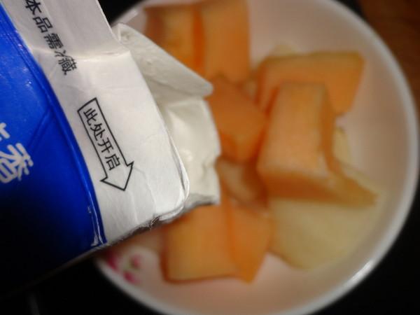 减肥的甜口兰香子水果羹的简单做法
