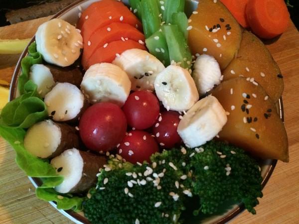 蔬菜杂粮拼盘怎么煸
