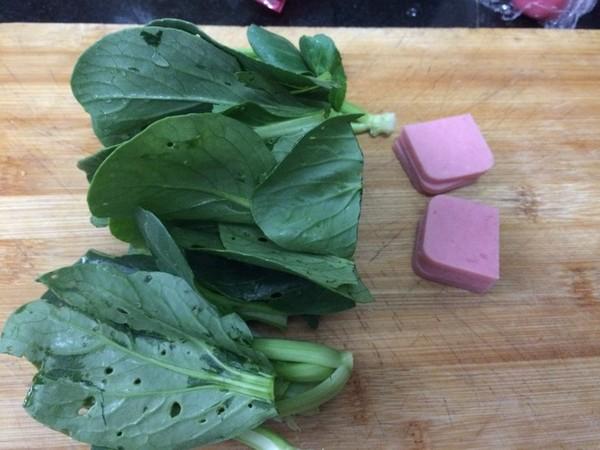 鸡蛋蔬菜灌汤面的简单做法