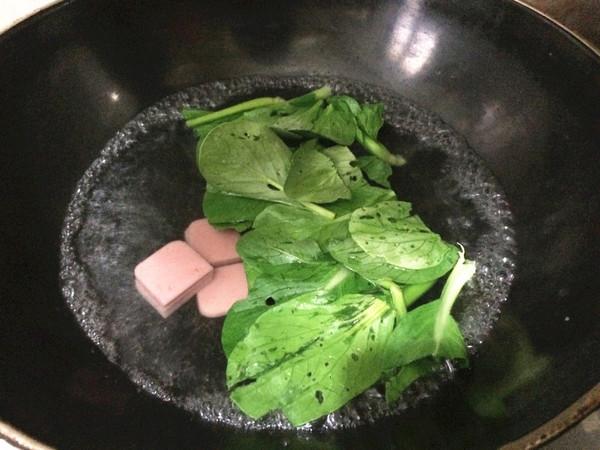 鸡蛋蔬菜灌汤面怎么吃