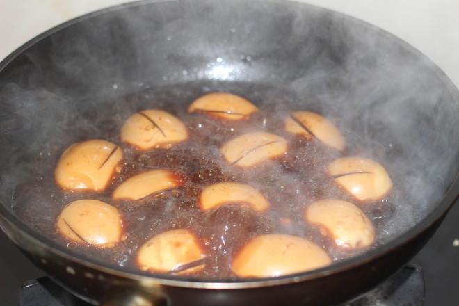 高汤卤蛋怎么炒