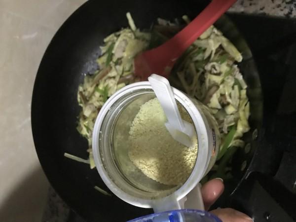 青椒笋尖炒肉丝怎样煮