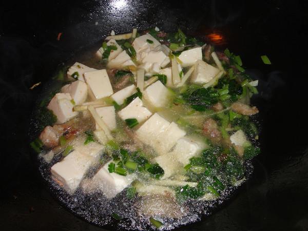 咸菜冬笋豆腐汤怎么做