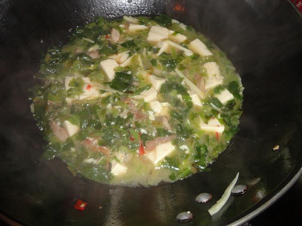 咸菜冬笋豆腐汤怎么炒