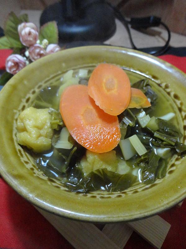 菌菇咸菜汤怎么炒