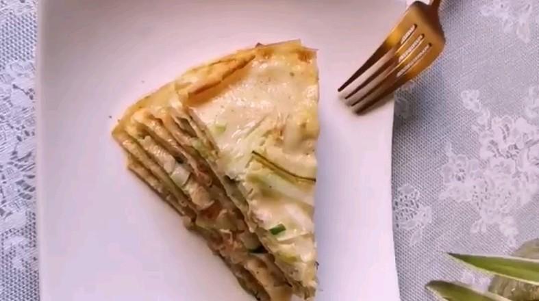 西葫芦丝鸡蛋饼怎么炒