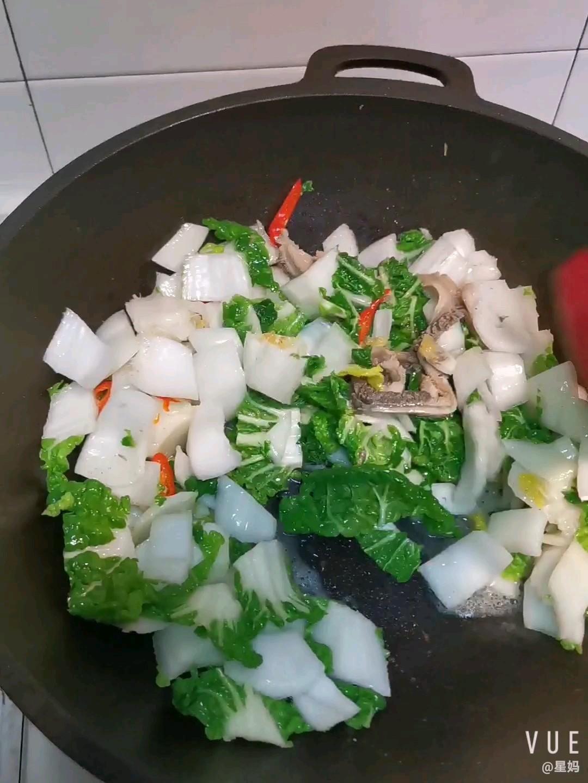 牛肚炒奶油白菜怎么炒