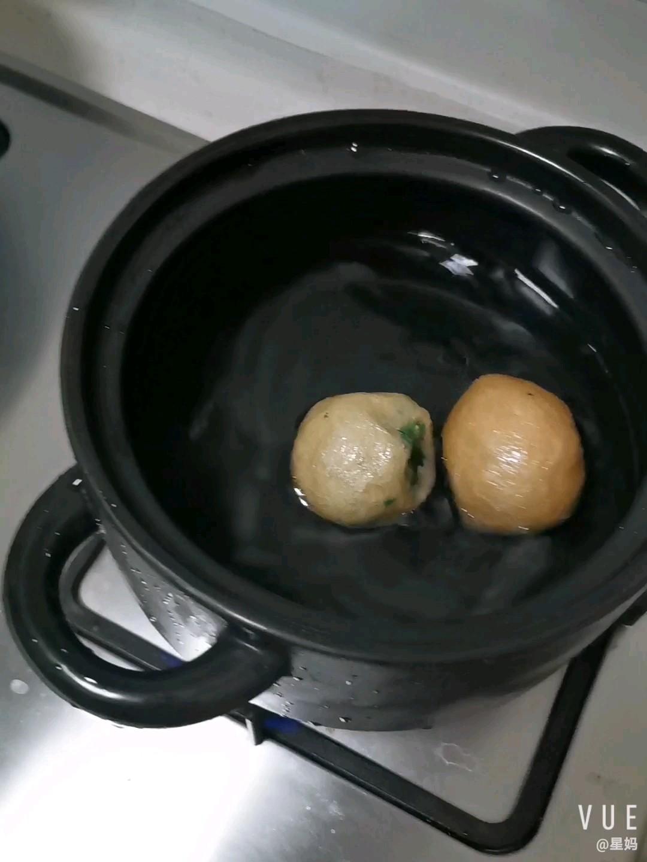 野菜油球粉丝煲的做法图解