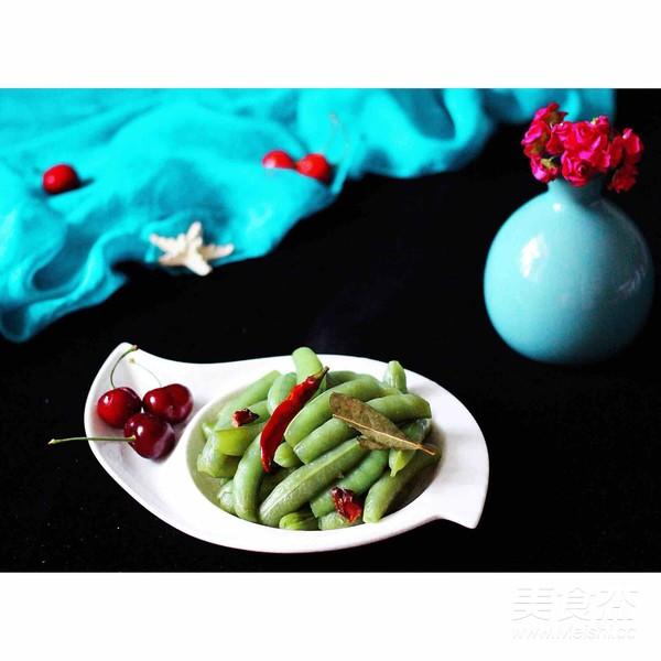 风味豌豆成品图