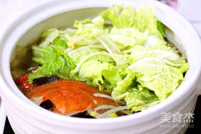 大白菜丸子炖海鲜&南瓜荷叶饼怎样炖