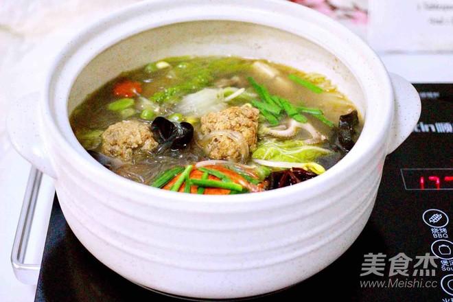 大白菜丸子炖海鲜&南瓜荷叶饼的做法大全