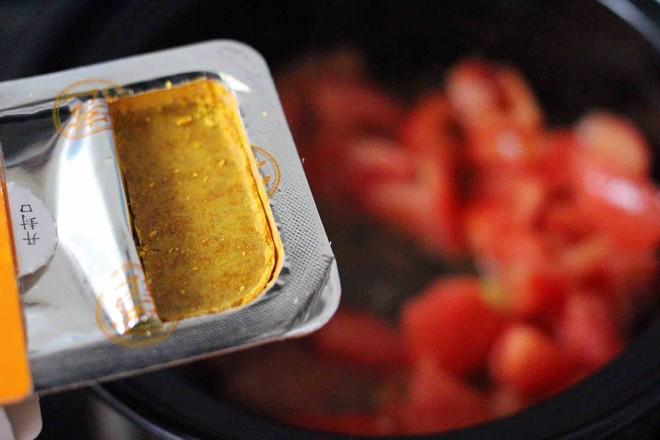 番茄咖喱鸡肉丸子怎样煸