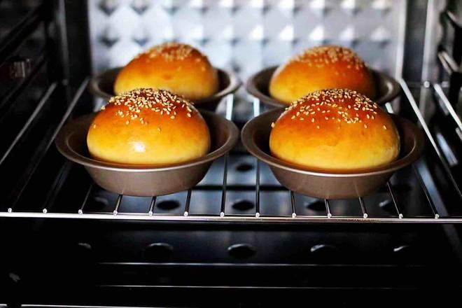 汉堡胚牛奶面包怎样炒