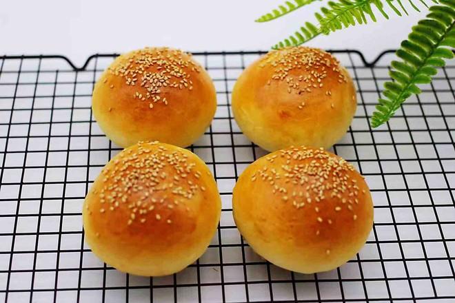 汉堡胚牛奶面包怎样煮