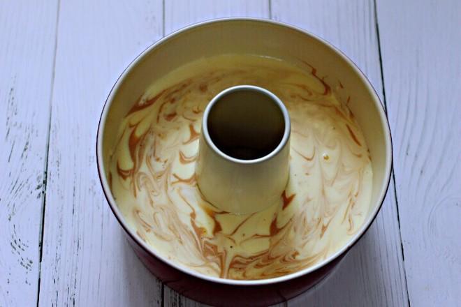 可可双色戚风蛋糕的制作方法
