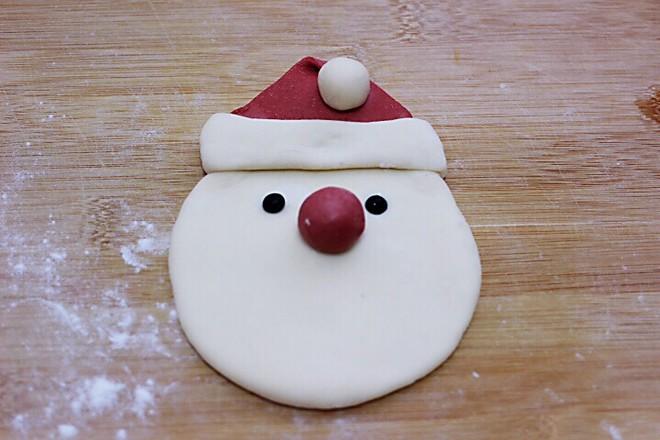 萌萌哒的圣诞老人馒头怎样炖