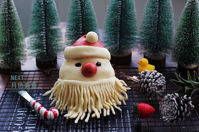 萌萌哒的圣诞老人馒头的做法大全
