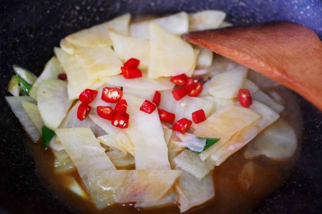 土豆片爆海虾怎样炒