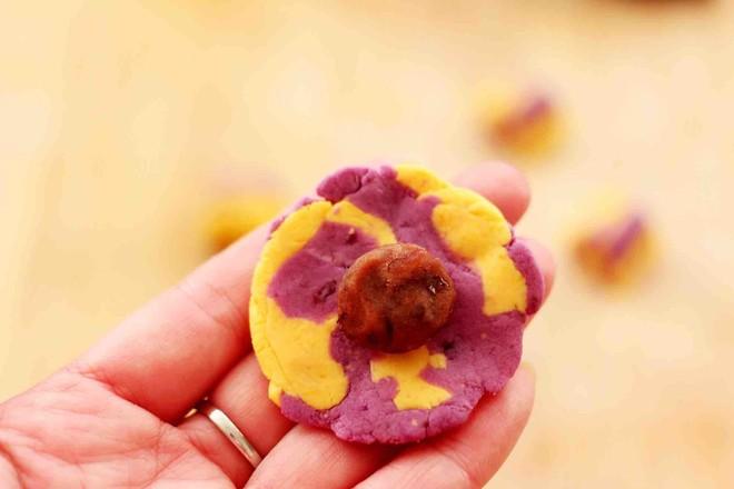 紫薯南瓜双色豆沙汤圆怎样炒