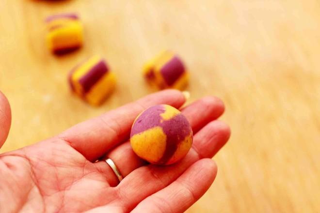 紫薯南瓜双色豆沙汤圆怎样煮