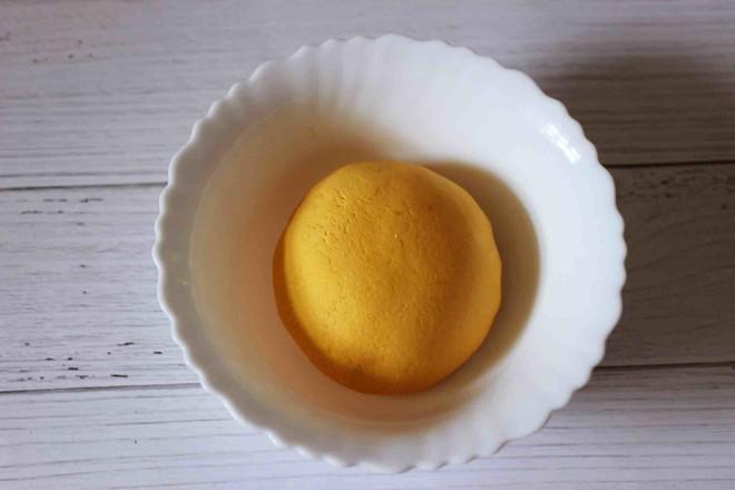 水晶南瓜紫薯包的简单做法