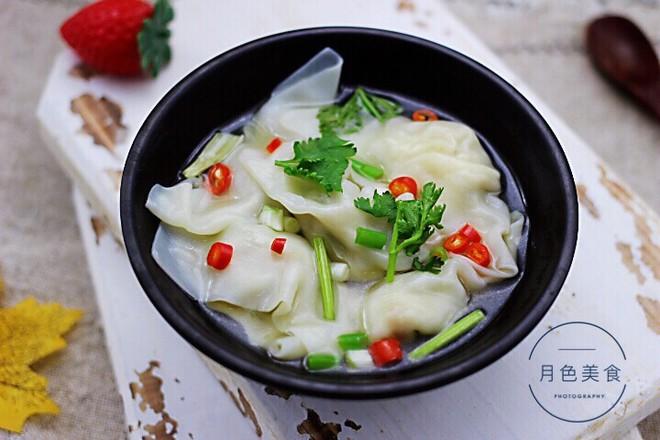 韭菜海米馄饨怎样煮