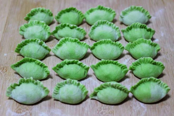 圆白菜扇贝翠玉饺子的制作大全