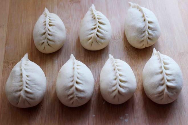 萝卜青口发面包的制作方法