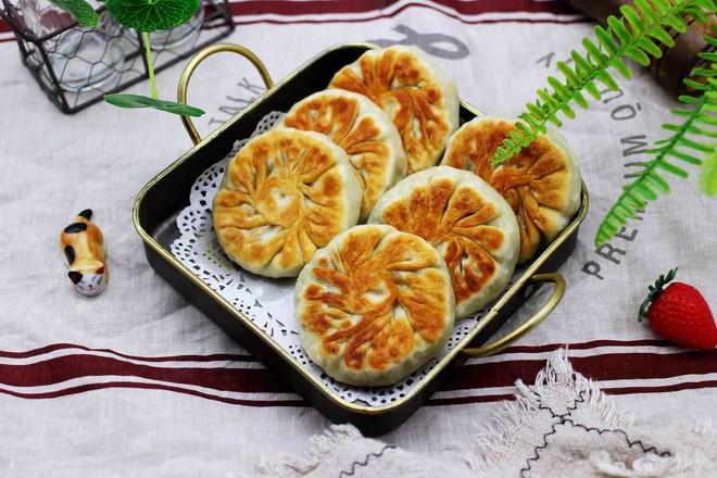 猪肉白菜豆干馅饼的制作方法