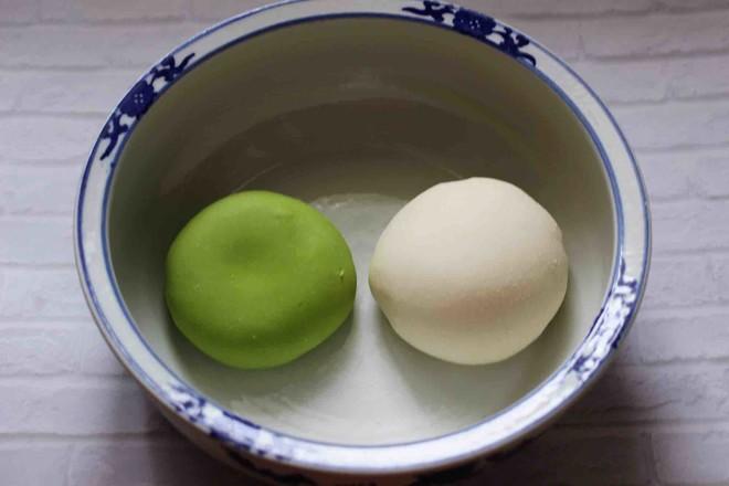 菠菜双色花样小馒头卷怎么吃