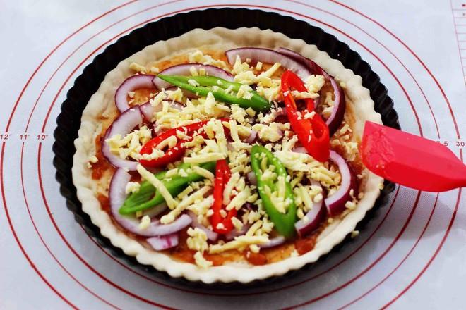 海虾杂蔬披萨怎样炒