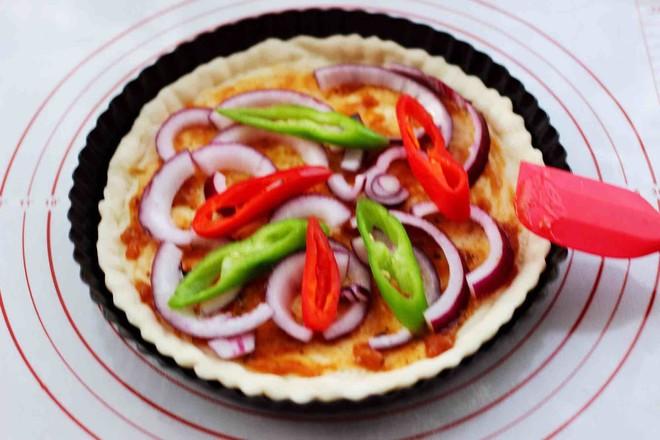 海虾杂蔬披萨怎样做