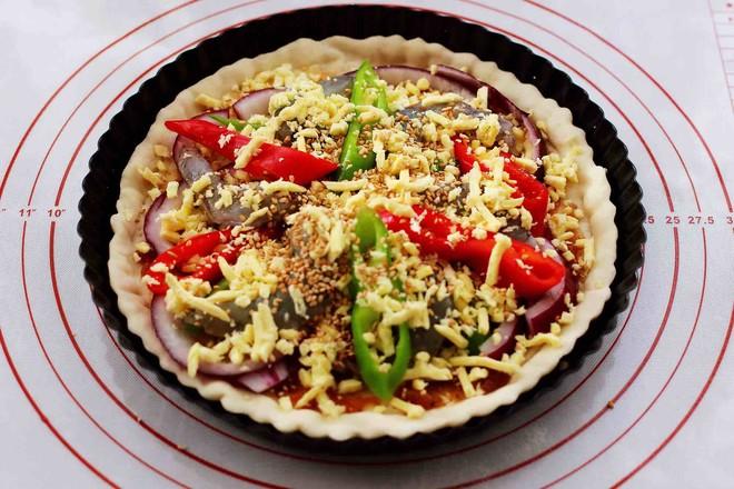 海虾杂蔬披萨怎样炖