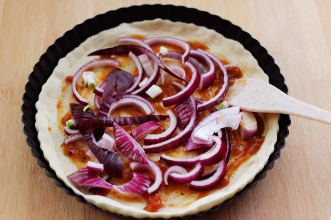 培根青豆披萨怎么炖