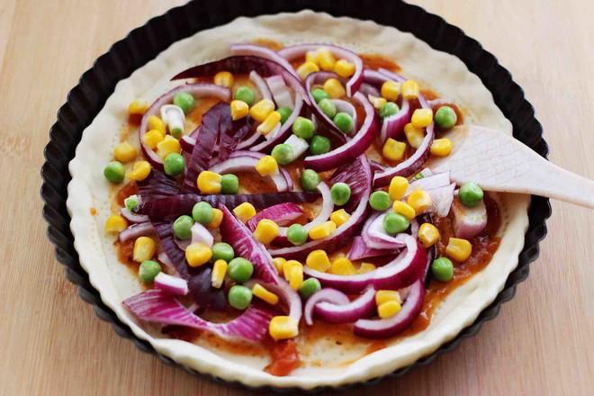 培根青豆披萨怎么煸