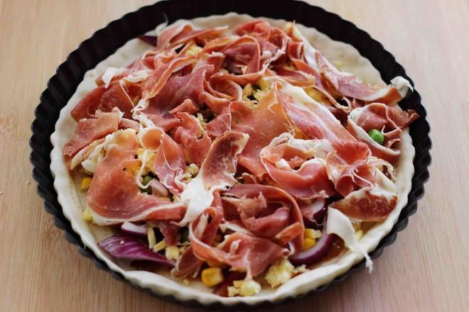 培根青豆披萨怎样做