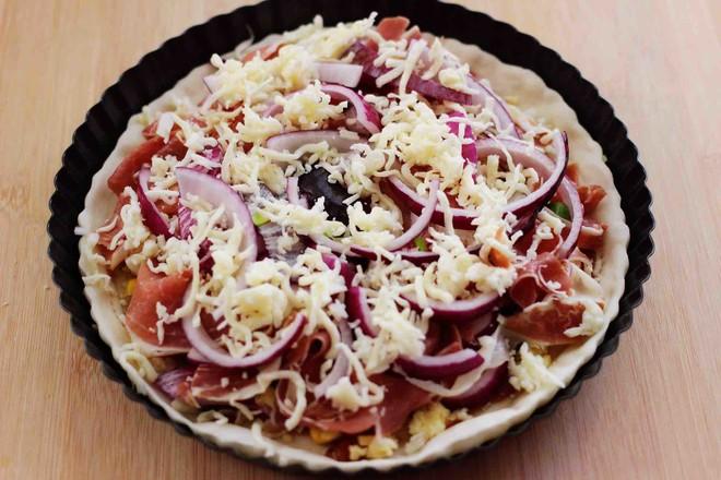 培根青豆披萨怎样煮