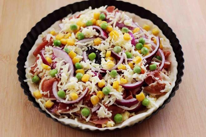 培根青豆披萨怎样炖