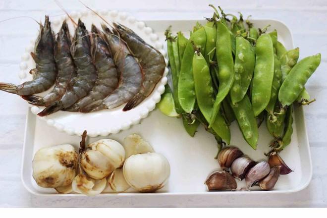 百合海虾荷兰豆小炒的做法大全