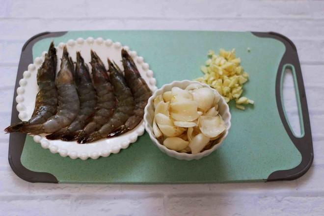 百合海虾荷兰豆小炒的家常做法