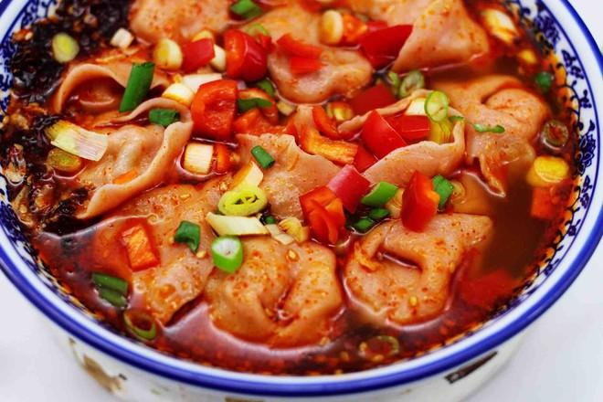 超爽的酸汤馄饨的做法大全