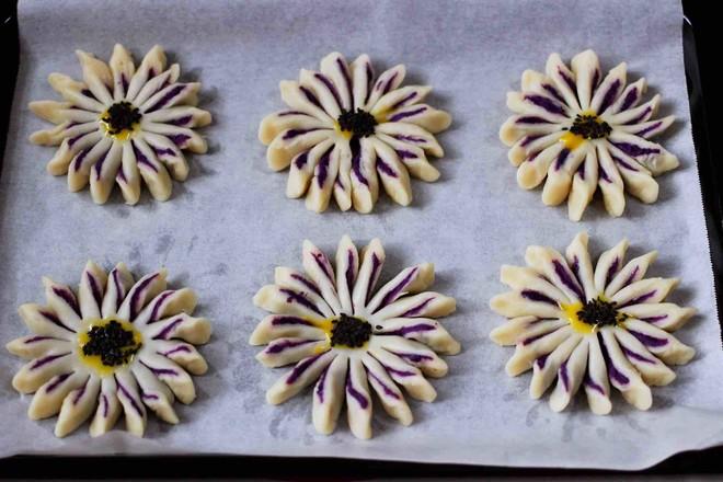 清新脱俗的紫薯酥的步骤