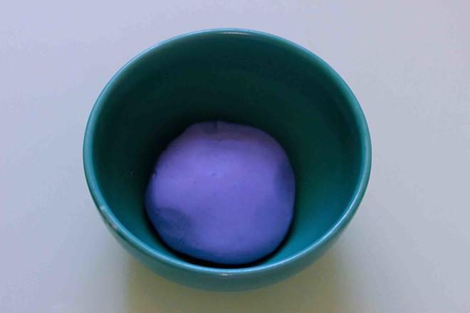星空水晶奶黄汤圆的简单做法
