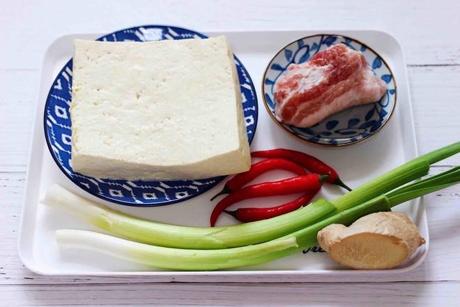 肉末青蒜烩豆腐的做法大全