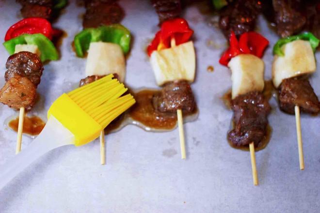 时蔬美味牛肉串的制作方法