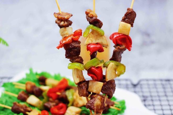 时蔬美味牛肉串的制作大全