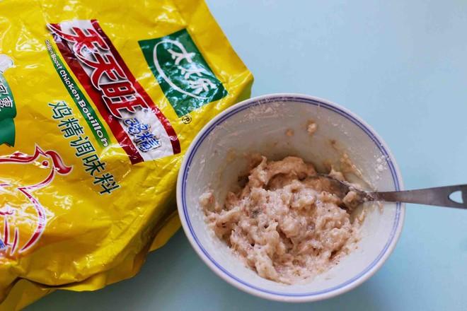 虾滑豆干茼蒿羹怎么做
